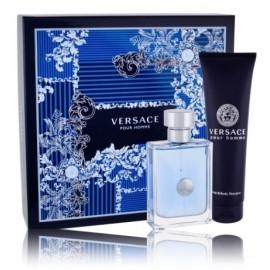 Versace pour Homme rinkinys vyrams (100 ml. EDT + 150 ml. dušo gelis)