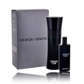 Giorgio Armani Code for Men rinkinys vyrams (75 ml. EDT + 15 ml. miniatiūra)