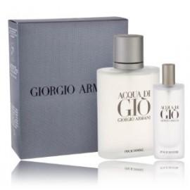 Giorgio Armani Acqua di Gio rinkinys vyrams (100 ml. EDT + 15 ml. EDT)