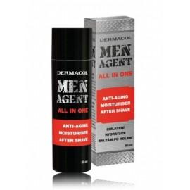 Dermacol Men Agent Anti-Aging drėkinamasis balzamas po skutimosi 50 ml.
