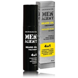 Dermacol Men Agent aliejus barzdai 4in1 50 ml.