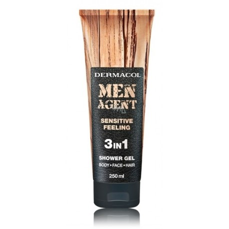 Dermacol Men Agent Sensitive Feeling dušo želė vyrams 250 ml.