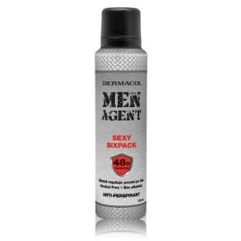 Dermacol Men Agent Sexy Six Pack dezodorantas antiperspirantas 150 ml.