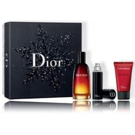 Dior Fahrenheit rinkinys vyrams (100 ml. EDT + 10 ml. EDT + 50 ml. dušo gelis)