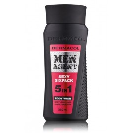 Dermacol Men Agent Sexy Six Pack dušo gelis vyrams 250 ml.
