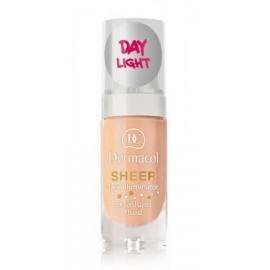 Dermacol Sheer Face Illuminator švytėjimo suteikiantis veido kremas 02 Day Light 15 ml.