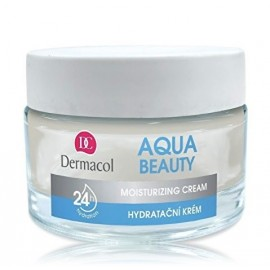 Dermacol Aqua Beauty Moisturizing Cream drėkinamasis kremas 50 ml.