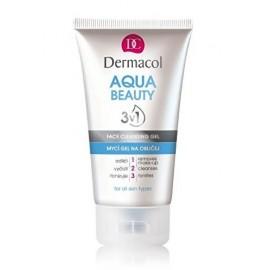 Dermacol Aqua Beauty 3in1 Face Cleansing Gel valomasis gelis veidui 150 ml.