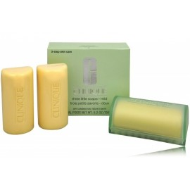 Clinique Three Little Soaps - Mild Dry muilas sausai veido odai 3x50 g.