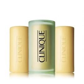 Clinique Three Little Soaps Oily Skin Formula veido muilas riebiai odai 3x50 g.
