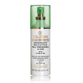 COLLISTAR Multi-Active Deodorant Hyper Sensitive Skins 24 Hours dezodorantas 100 ml.