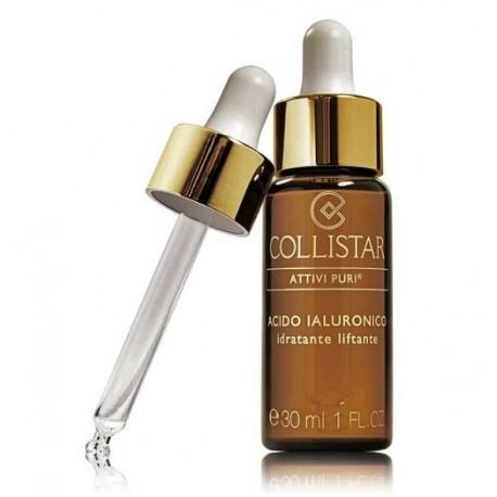 COLLISTAR Pure Actives Hialuronic Acid pakeliamasis drėkinamasis veido serumas 30 ml.