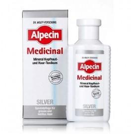 Alpecin Medicinal Silver Mineral Scalp & Hair Tonic aliejinis serumas galvos odai ir plaukams 200 ml.