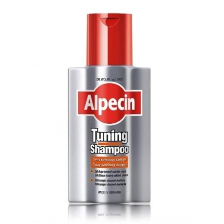 Alpecin Tuning Shampoo šampūnas tamsiems plaukams 200 ml.