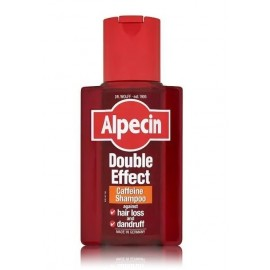 Alpecin Caffeine Double Effect Energizer dvejopo poveikio plaukų šampūnas 200 ml.