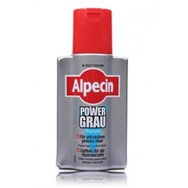 Alpecin PowerGrey Shampoo šampūnas žiliems ir pilkiems plaukams 200 ml.