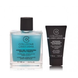 Collistar Men After Shave Fresh Effect Set rinkinys vyrams po skutimosi 100 ml. + 30 ml.