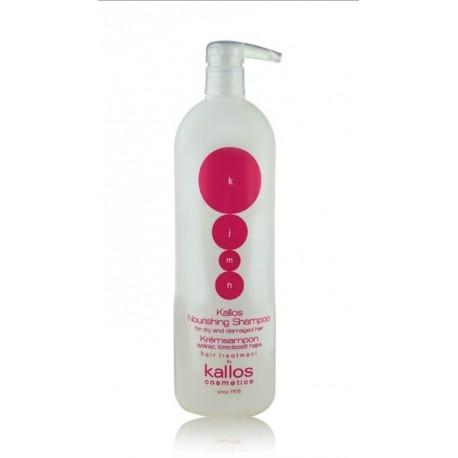 Kallos KJMN Nourishing Shampoo maitinamasis šampūnas 1000 ml.