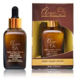 Xpel Argan Oil Night Repair Serum naktinis serumas su argano aliejumi 50 ml.