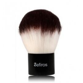 Sefiros Black & White Kabuki Brush birių makiažo produktų šepetėlis
