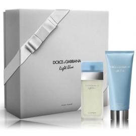 Dolce & Gabbana Light Blue rinkinys moterims (25 ml. EDT + losjonas)