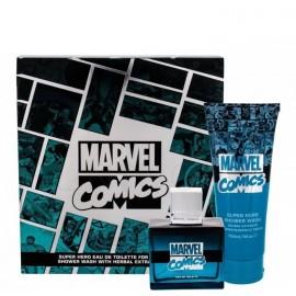 Marvel Comics Hero rinkinys berniukams (75 m. EDT + dušo gelis)