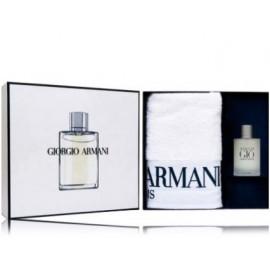 Giorgio Armani Acqua di Gio rinkinys vyrams (100 ml. EDT + rankšluostis)