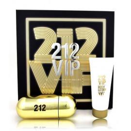 Carolina Herrera 212 VIP rinkinys moterims (80 ml. EDP + losjonas)
