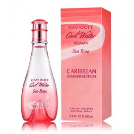 Davidoff Cool Water Sea Rose Caribbean Summer Edition 100 ml. EDT kvepalai moterims