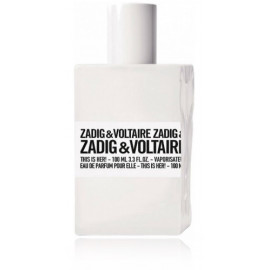 Zadig & Voltaire This Is Her! 100 ml. EDP kvepalai moterims Testeris