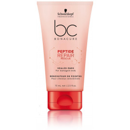 Schwarzkopf Professional BC Bonacure Peptide Repair Rescue Fluid kremas pažeistiems plaukams 75 ml.