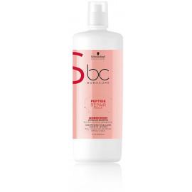 Schwarzkopf BC Bonacure Peptide Repair Rescue Deep Nourish šampūnas 1000 ml.