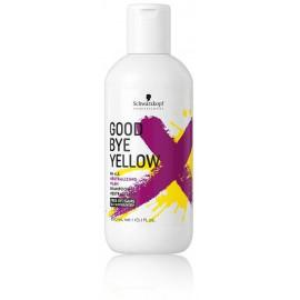 Schwarzkopf Professional Goodbye Yellow šampūnas neutralizuojantis geltonus tonus