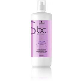 Schwarzkopf BC Keratin Smooth Micellar  glotninamasis šampūnas 1000 ml.