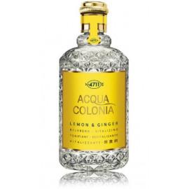4711 Acqua Colonia Lemon & Ginger EDC kvepalai vyrams ir moterims