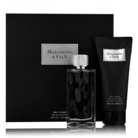 Abercrombie & Fitch First Instinct Man rinkinys vyrams (100 ml. EDT + gelis)