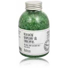 Sefiros Original Dead Sea Bath Salt Eukalyptus aromatinė vonios druska 500 ml.