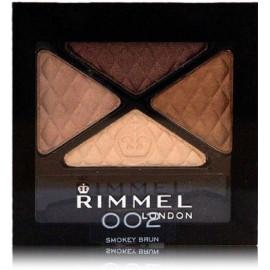 Rimmel Glam'Eyes Quad akių šešėliai 002 Smokey Brun 4.2 g.
