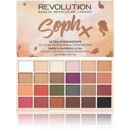 Makeup Revolution Soph X akių šešėlių paletė 26,4 g.