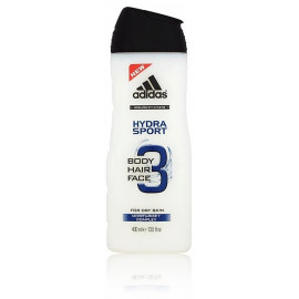 Adidas 3in1 Hydra Sport dušo gelis vyrams 400 ml.
