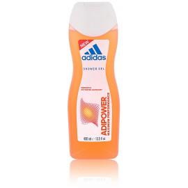 Adidas Adipower dušo gelis moterims 400 ml.