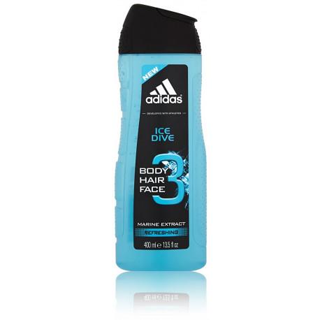Adidas Ice Dive dušo gelis vyrams 400 ml.