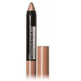 Gabriella Salvete Eyeshadow & Eyeliner 2in1 akių šešėliai-pravedimas 03 Metallic Rose 3 g.