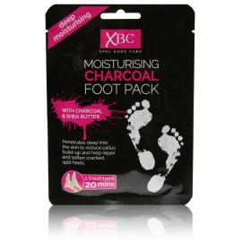 Xpel Cleansing Charcoal Foot kojų kaukė su medžio anglimi