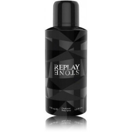 Replay Stone for Him purškiamas dezodorantas vyrams 150 ml.