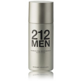 Carolina Herrera 212 Men purškiamas dezodorantas 150 ml.