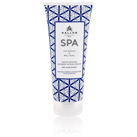 Kallos SPA Moisturizing Shower Scrub Cream kūno šveitiklis 200 ml.
