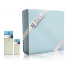 Dolce & Gabbana Light Blue rinkinys moterims (100 ml. EDT + 25 ml. EDT)