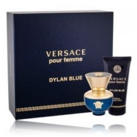 Versace pour Femme Dylan Blue rinkinys moterims (30 ml. EDP + 50 ml. kūno losjonas)