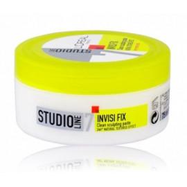 Loreal Studio Line Invisi Fix Clean Sculpting Paste  plaukų vaškas 75 ml.